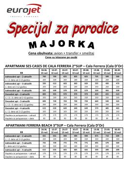 Specijal za porodice Majorka leto 2014 br. 1 _2