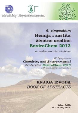 Knjiga izvoda - EnviroChem 2013