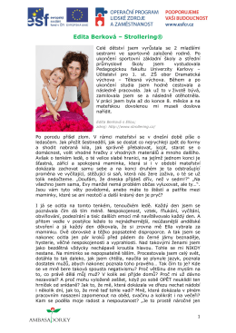 Edita Berková – Strollering®