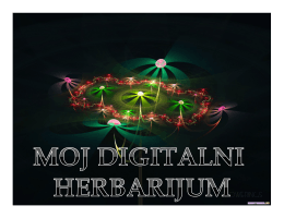 дигитални хербаријум 3