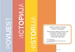 Reforma nastave historije u Bosni i Hercegovini