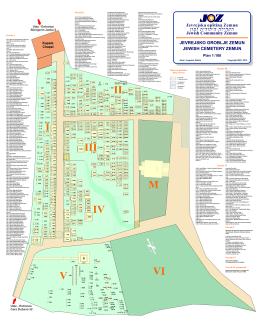 Detaljan plan (1:100) - Jevrejska opština Zemun