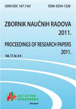 Zbornik naučnih radova 2011 vol_17_3-4