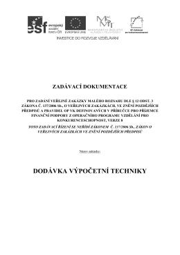Zadávací dokumentace.docx
