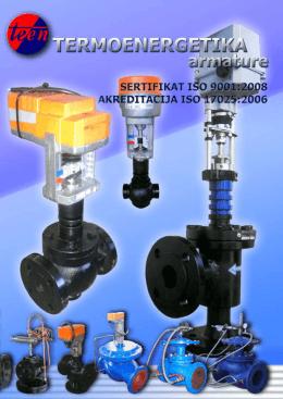 Kompletan katalog - Termoenergetika armature