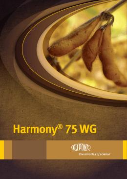 Harmony® 75 WG Harmony® 75 WG