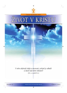 Duben - Časopis Život v Kristu