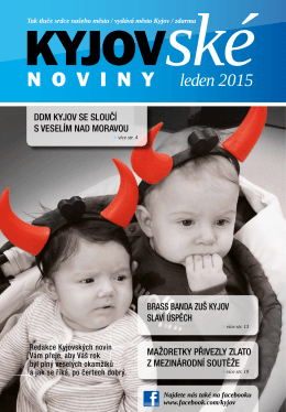 2015 leden - On-line vysílání / program