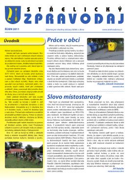 říjen - Obec Střelice u Brna