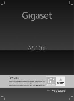 Gigaset A510 IP– vaš pratitelj vrhunske kvalitete