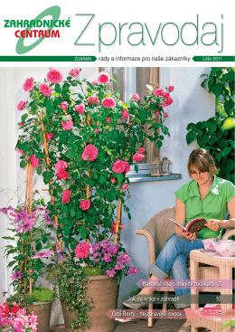 Léto 2011 - Zahradnictví Chládek