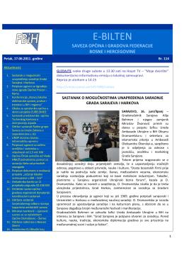 Bilten broj 114 - Savez općina i gradova Federacije BiH