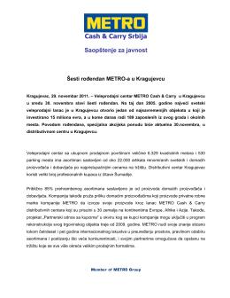 Metro Cash&Carry – podnaslov