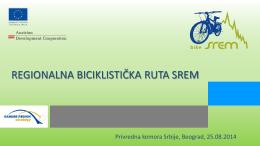 Studija uspostavljanja biciklističke rute Srem