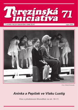 Časopis Terezínská iniciativa č. 71 - srpen 2014