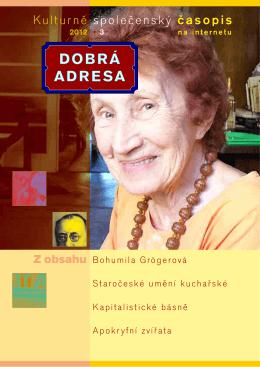 DA 03/2012 - Dobrá adresa