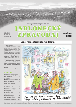 JABLONECKÝ ZPRAVODAJ prosinec