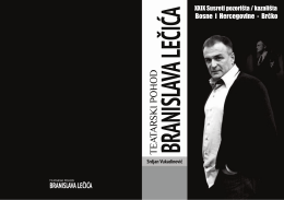 Branislav Lecic naslovnica final