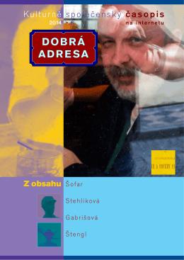 6 • 2014 - Dobrá adresa