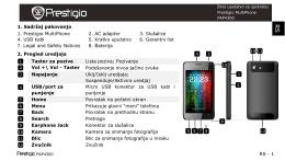 Prestigio Multiphone 4300