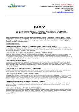 pariz - STP Derventa
