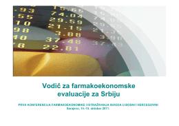 Vodič za farmakoekonomske evaluacije za Srbiju