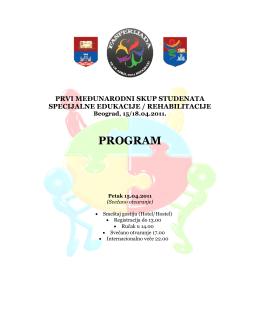 Program Fasperijade - Edukacija i Rehabilitacija