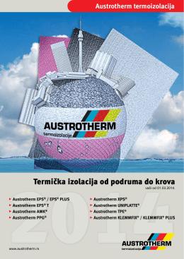 Austrotherm - Termička izolacija od podruma do