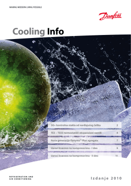 Cooling Info 2010