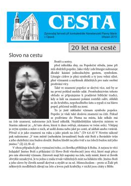 Březen - Římskokatolická farnost Opava