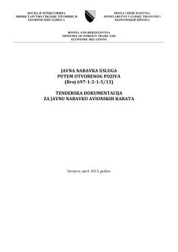 ovdje. - Ministarstvo vanjske trgovine i ekonomskih odnosa Bosne