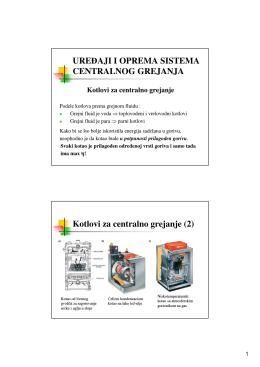 Kotlovi za centralno grejanje (2)