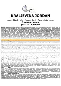 AMAN - DŽERAŠ