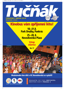 Tučňák 7-8/14 - Naše Praha 4