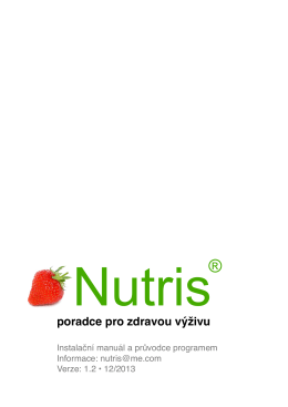 Nutris manuál