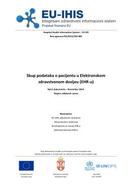 EU-IHIS Patient Dataset v12.2.1_SR