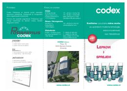 Snimi - Codex doo