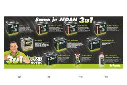 Brošura novih proizvoda 3u1 (2011)- pdf