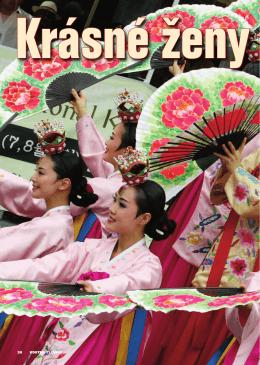 Krásné ženy beze jména - Jižní Korea, Severní Korea