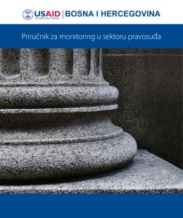 Priručnik za monitoring u sektoru pravosuđa