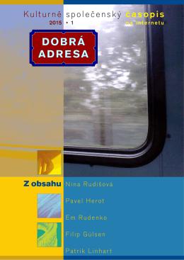 DA 01/2015 - Dobrá adresa