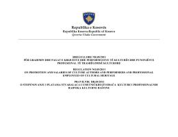 30.11.2011Rregullore Nr. 05/2011 për gradimin dhe pagat e
