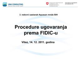 Procedure ugovaranja prema FIDIC-u