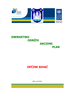 energetski održiv akcioni plan općine bihać