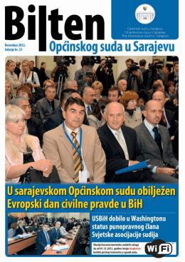 Galerija fotografija - Općinski sud u Sarajevu