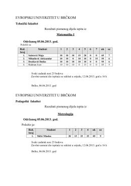 Spisak tema za seminarski iz metodike matematike1