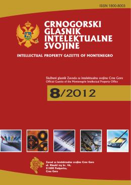 8 - Zavod za intelektualnu svojinu Crne Gore