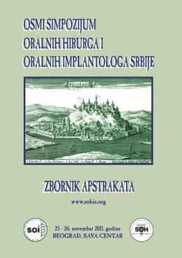 ZBORNIK 2011.indd - Sekcija za Oralnu Hirurgiju i Oralnu