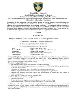 Konkurs - 1. Interpret / Përkthyes, Shqip
