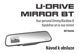 Návod k obsluze U-DRIVE MIRROR BT - Media